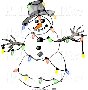 free-snowman-clipart-holiday-clip-art-of-a-festive-winter-snowman-decorated-with-colorful-christmas-tree-lights-on-white-by-djart-634